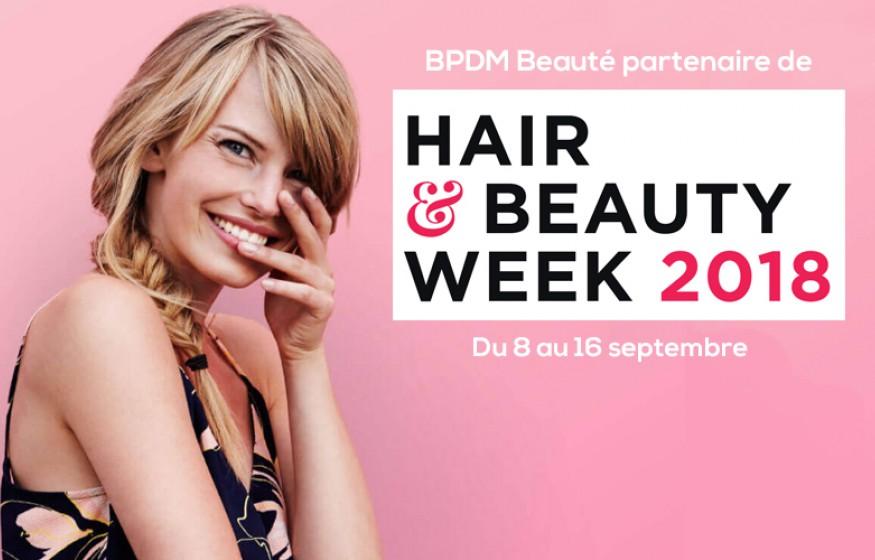 BPDM Beauté, partenaire de la Hair & Beauty Week 2018!