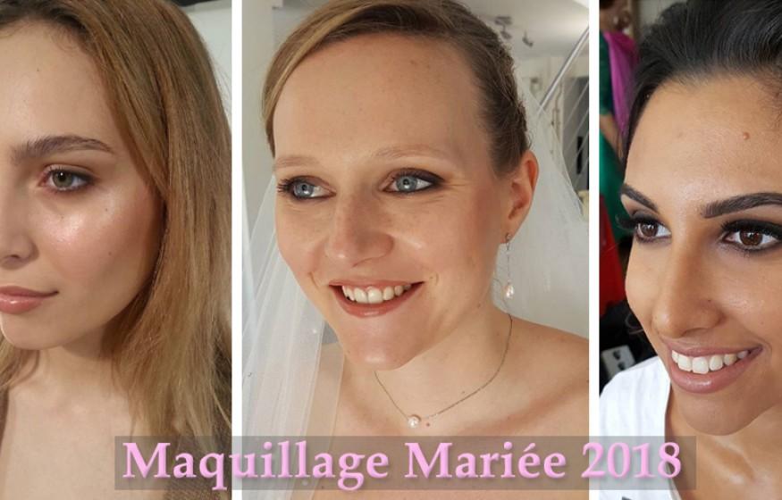Maquillage de mariée 2018 et conseils de Pros
