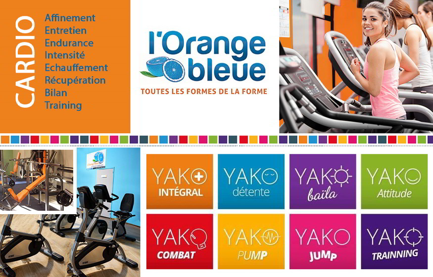 l 39 enseigne l 39 orange bleue centre fitness remise en forme. Black Bedroom Furniture Sets. Home Design Ideas