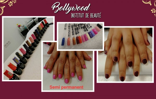Mains : Pose de vernis semi-permanent