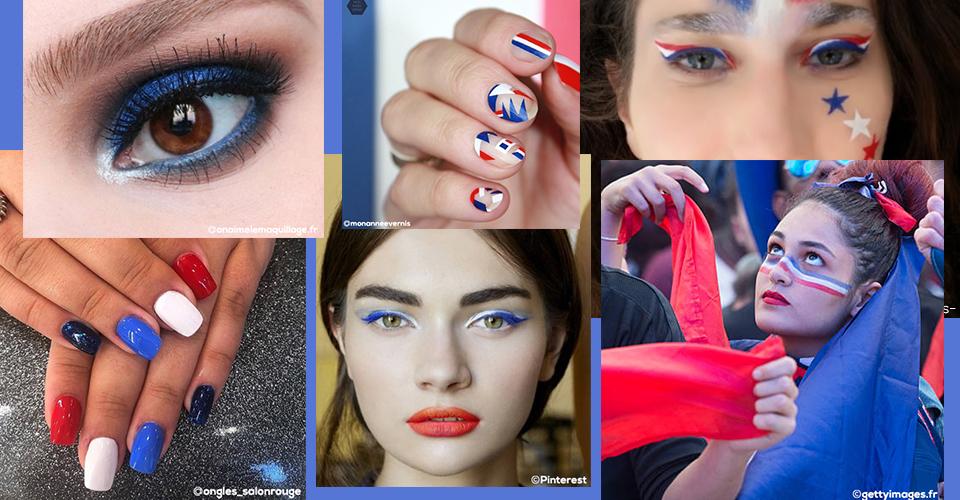 Maquillage femme coupe du monde