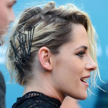 Coiffure oneside avec Barrettes, Kristen Stewart